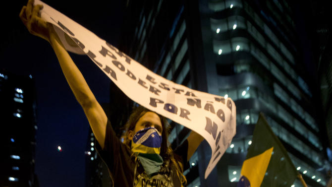 CORRECTION Brazil Confed Cup Protests