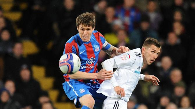 Paddy McCarthy, left, has signed a new deal at Crystal Palace