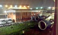 British Airways Plane 'Crash' In Johannesburg
