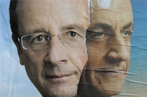 Sarkozy and Hollande in final election push