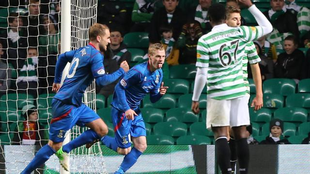 Scottish Premier League - Celtic stunned at home by Caley