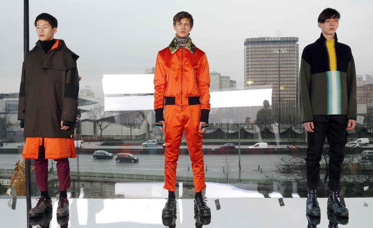 Paris fashion week salutes the deconstructed soldier