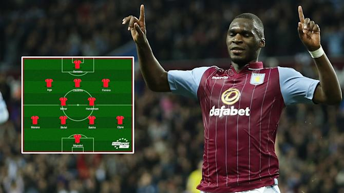 Premier League - How Liverpool could line up with Christian Benteke next season