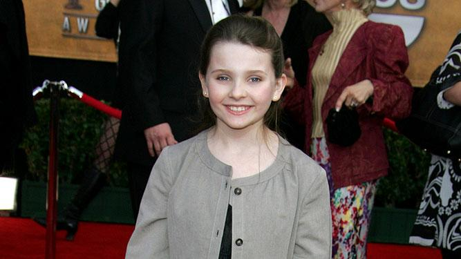 Abigail Breslin at the 13th Annual Screen Actors Guild Awards.