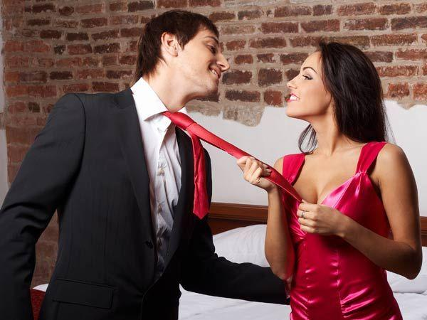 Image courtesy : iDiva.comThe colour red: Chuck the LBD and get the LRD (little red dress) out of the closet to titillate your man. Research reveals that men find women dressed in crimson more attract