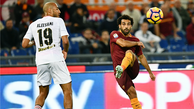 Salah and Dzeko partnership keeps Roma in touch with Juventus