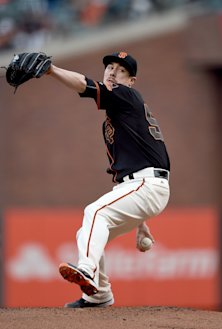 Tim Lincecum could be headed for a K spike . (Getty)