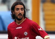 Livorno midfielder Piermario Morosini is seen during a second league match against Pescara where he suffered a suspected heart-attack on April 14. Italy was in shock as the sober realisation sank in of the tragedy that befell Morosini the day before