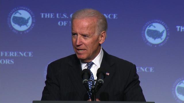 "Biden: ""No illusions"" about difficulty of gun control"