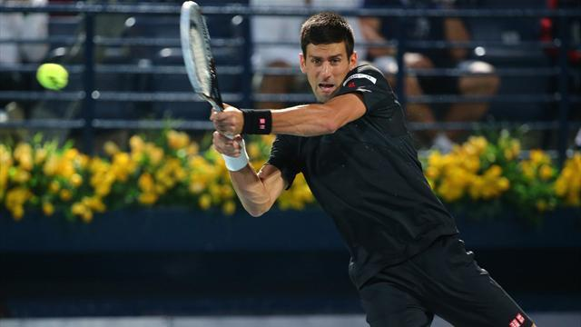 Tennis - Djokovic progresses in Dubai