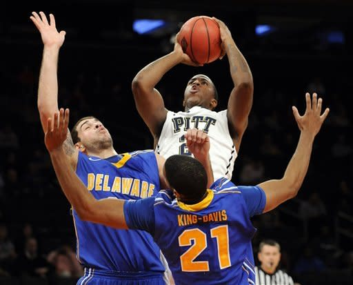 Zanna leads Pitt over Delaware in NIT consolation