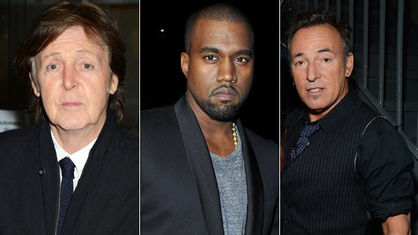 Paul McCartney, Kanye West, Bruce Springsteen Lead '12-12-12' Sandy Benefit