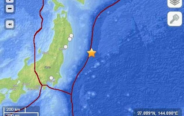 Strong quake hits off Japan near Fukushima disaster zone
