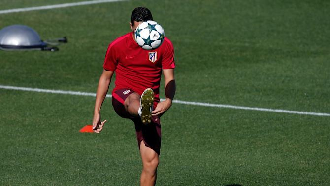 Atletico Madrid training - UEFA Champions League Group Stage - Group D