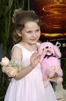 Abigail Breslin at the New York premiere of Touchstone's Signs