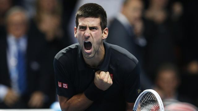 ATP World Tour Finals - Djokovic inspired by father's health battle