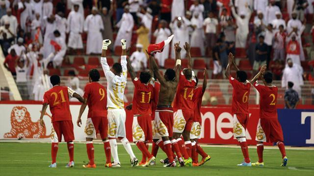 World Cup - Oman beat Iraq to boost Brazil 2014 dreams