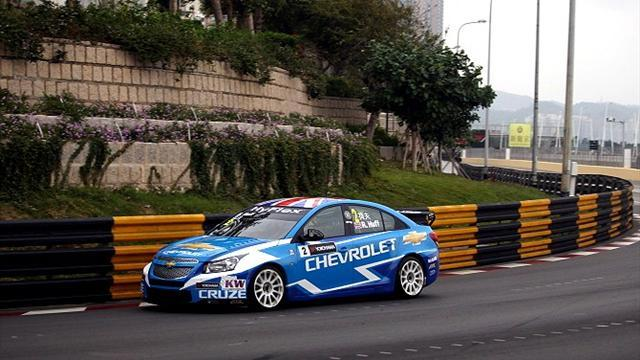 WTCC - Huff claims pole in Macau
