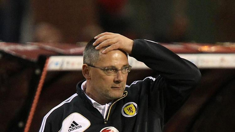 Ally McCoist believes the uncertainty over Craig Levein's, pictured, position seems 'a little bit unfair'