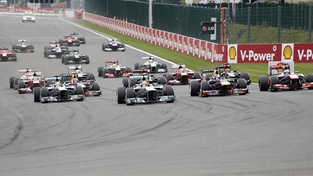 Formula 1 - Formula 1 cars to be made louder