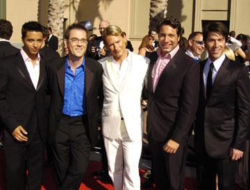 Jai Rodriguez, Ted Allen, Carson Kressley, Thom Filicia and Kyan Douglas 2004 Emmy Creative Arts Awards Arrivals - 9/12/2004 Ted Allen