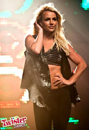 Britney Spears Rocks $20,000 Sports Bra in Twister Dance Promo