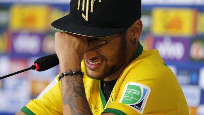 World Cup - Neymar: Zuniga could have left me in wheelchair but I don't hold a grudge