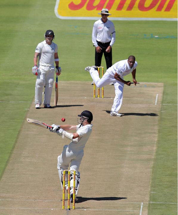 1st Test: South Africa v New Zealand, Day 1