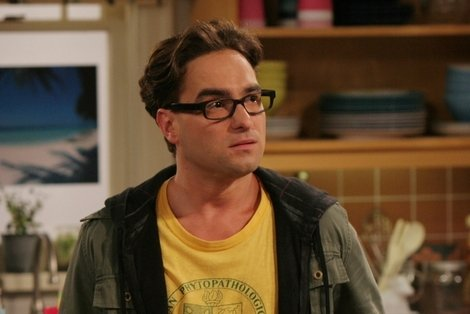 Leonard Hofstader (actor Johnny Galecki) on 'The Big Bang Theory'