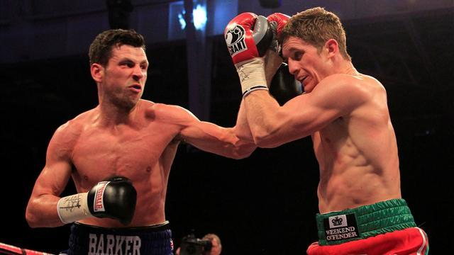 Boxing - Barker returns from injury to halt Hope in four