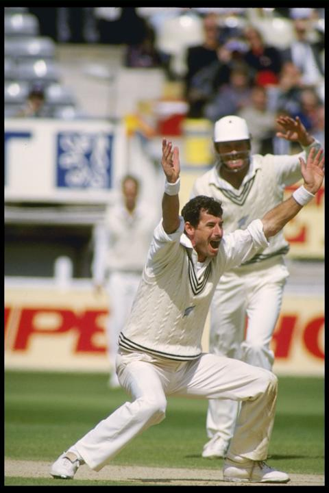 Sir Richard Hadlee of New Zealand