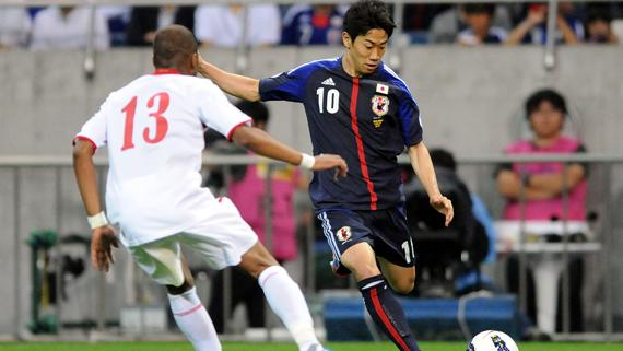 VIDEO: Watch Manchester United bound Shinji Kagawa's strike for Japan in 6-0 rout