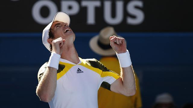 Australian Open - Frustrated Murray reaches last 16, Robson out