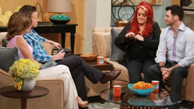 Wynonna Judd and Tony Dovolani on Access Hollywood Live, March 20, 2013 -- Access Hollywood