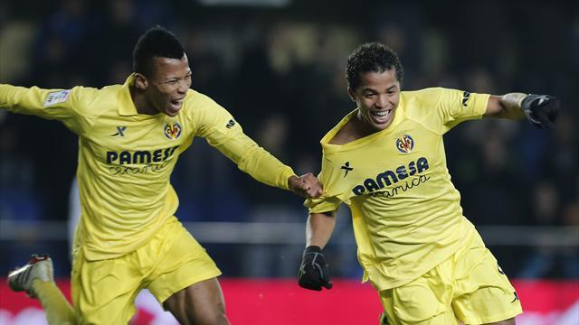 Liga - Villarreal thrash Sociedad to claim fifth spot