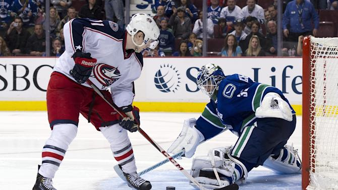 Columbus Blue Jackets v Vancouver Canucks