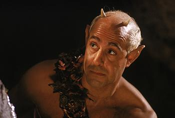 Stanley Tucci as Puck in Fox Searchlight's A Midsummer Night's Dream