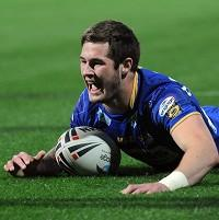 Leeds' Zak Hardaker was named Super League young player of the year