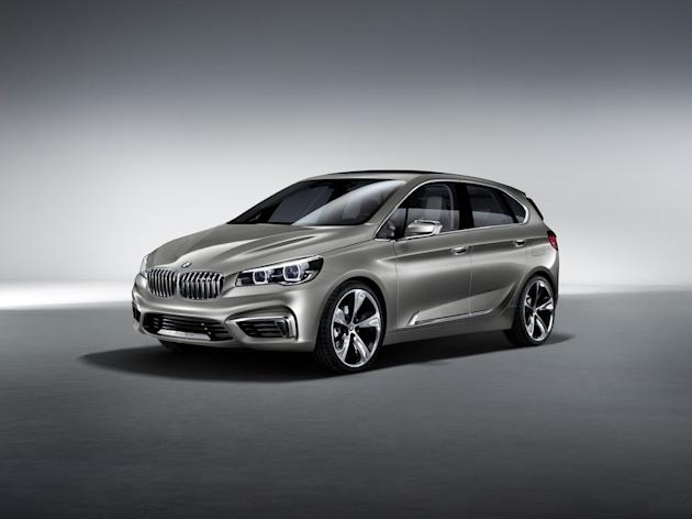 BMW Concept Active Tourer - Salon Paris 2012