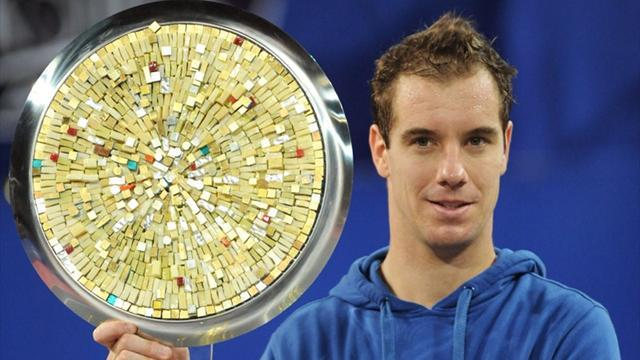 Tennis - Gasquet wins second title of the year at home