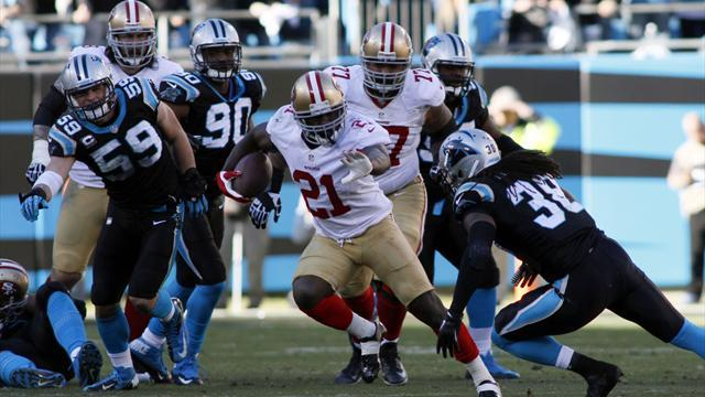 NFL - 49ers beat Panthers, advance to NFC title game