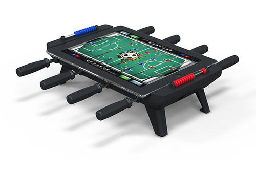 You've had the iCade and pinball add-ons, now turn your iPad into table football with Classic Match Foosball. iPad accessories, iPad, iCade, Apps, Gaming, New Potato Technologies 0