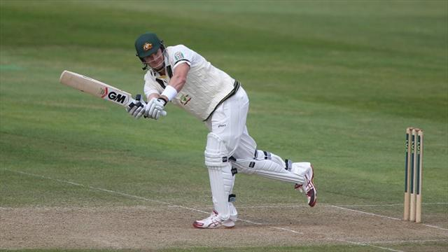 Cricket - Australia warm up for Ashes with win over Somerset