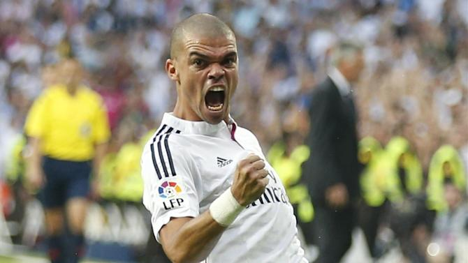 Champions League - Pepe relishing prospect of battle with Carlos Tevez