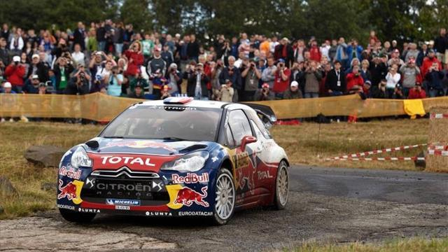 Loeb wins Rally GB qualifying stage