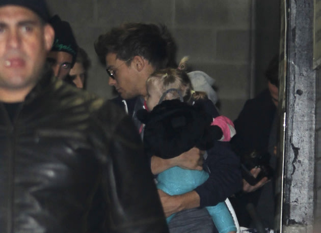 Louis Tomlinson and Baby Lux.