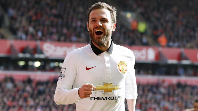 Premier League - Juan Mata fears struggling Manchester United could be overtaken by Liverpool