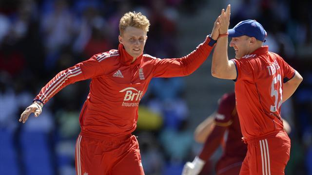 Cricket - England beat West Indies to wrap up series