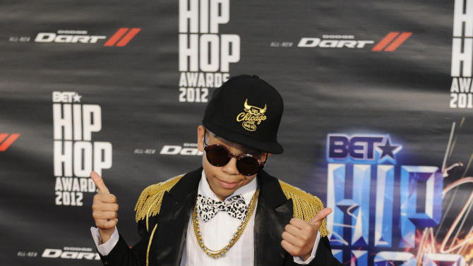 Key Swag attends the BET Hip-Hop Honors at Boisfeuillet Jones Atlanta Civic Center on Saturday, Sept. 29, 2012, in Atlanta. (Photo by John Amis/Invision/AP)