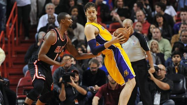 Basketball - Lakers stifled by Heat